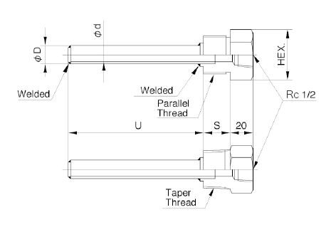 TW30A: Pipe Protection Tube Screw Type image