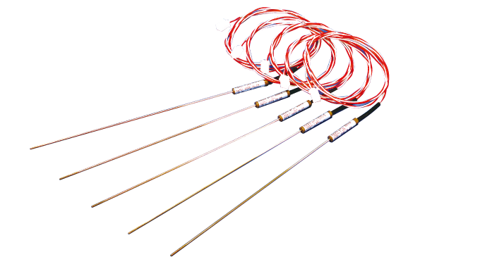AMS2750 Supported Resin Molded Sleeve Type Sheathed Thermocouples image