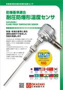 Explosion/Flame Proof Temperature Sensor Catalog Image